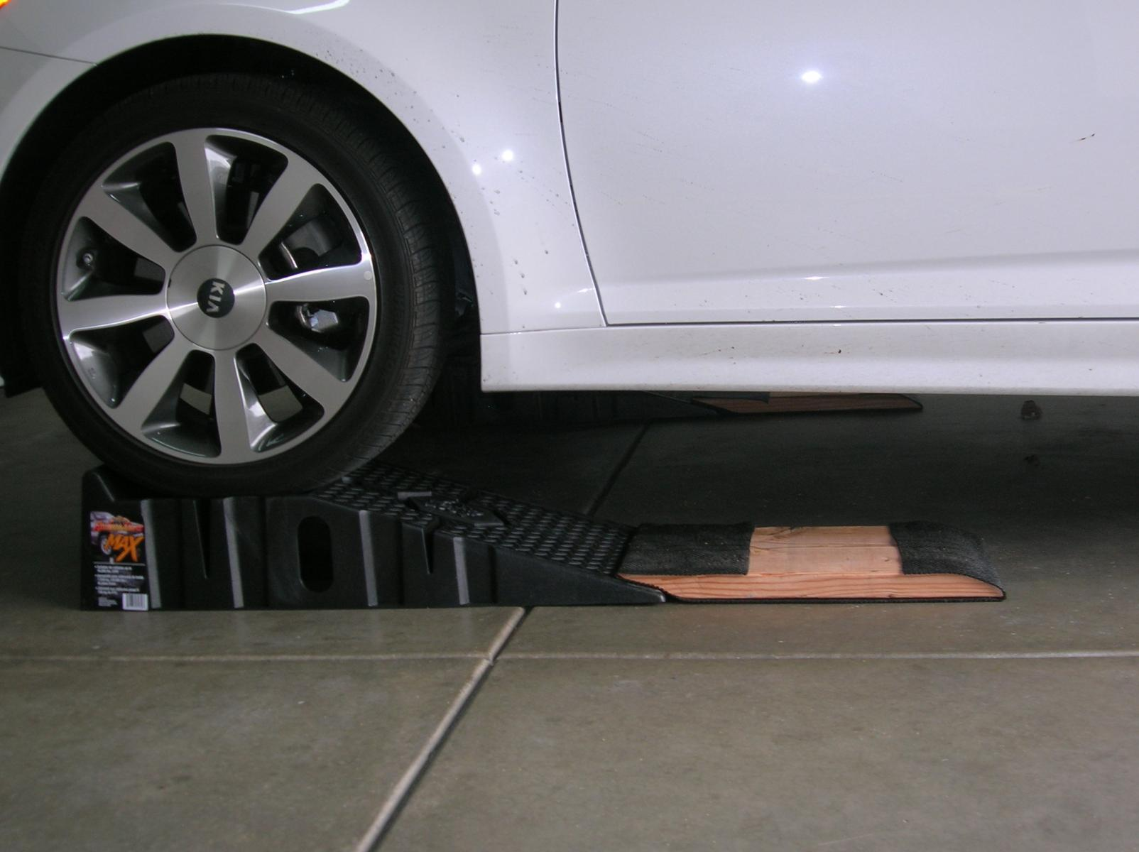 Oil Change Ramps