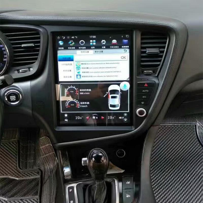 Kia Soul 2011 Black >> Tesla Style Android Navigation Radio for Kia Optimas/K5