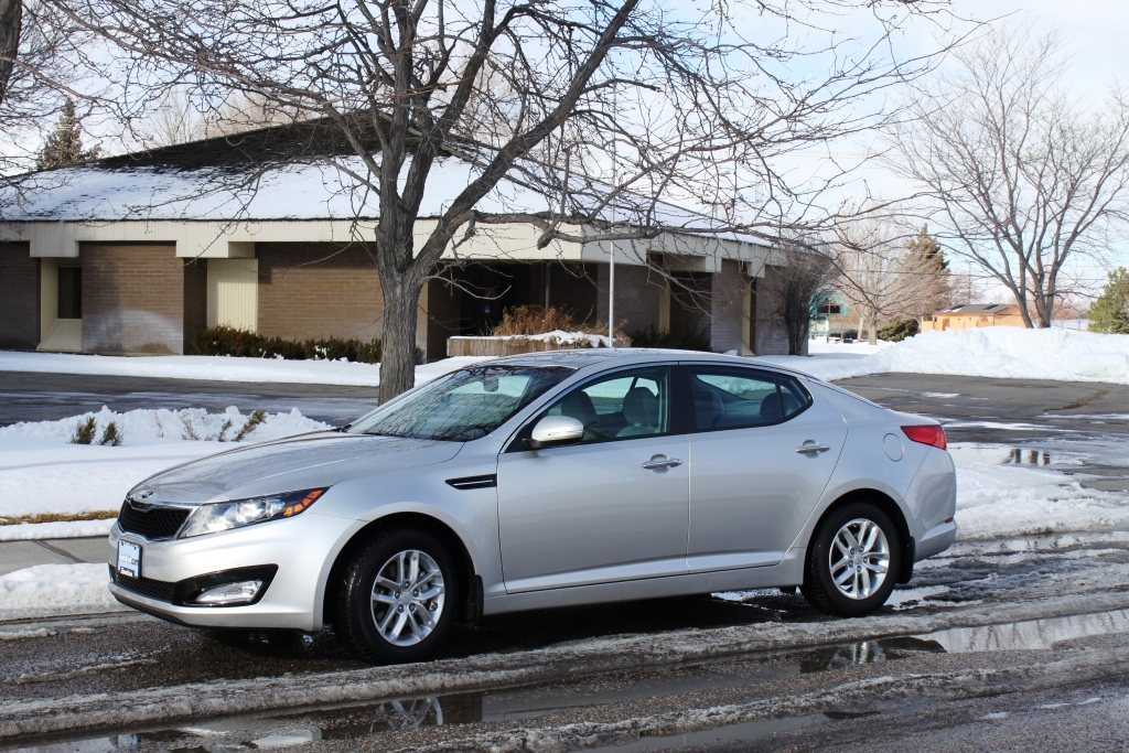 2013 kia optima lx bright silver before and after 3m tinting and paint protection. Black Bedroom Furniture Sets. Home Design Ideas