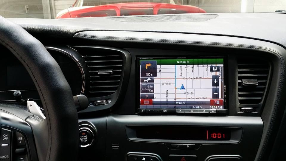 """2014 Kia Optima Ex >> [FS] : FS: 8"""" Alpine Z928hd double din navigation w/ up to date map"""