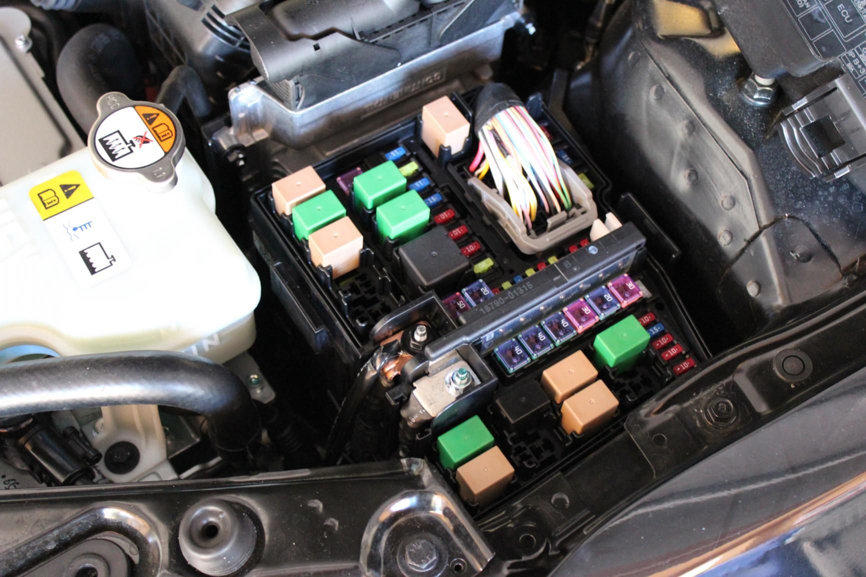 Optima Hybrid (2012) Hid Fog And High Beam Install Tips And Tricks Infiniti  G37 Fuse Box Location Location' 2012 Kia Forte Fuse Box