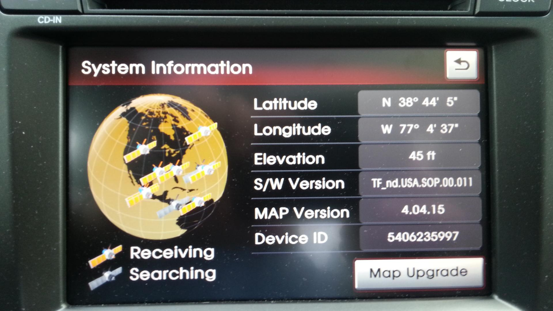 GPS Map Data Update For - Gps map data