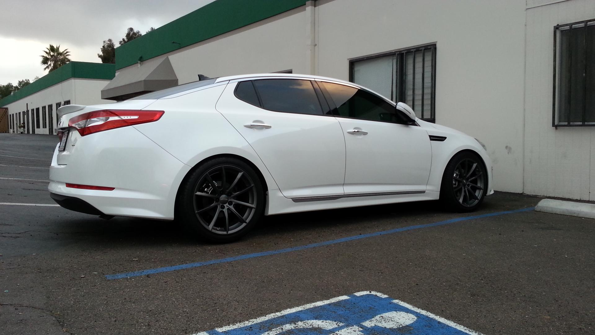 New wheels and lowering springs - Hybrid