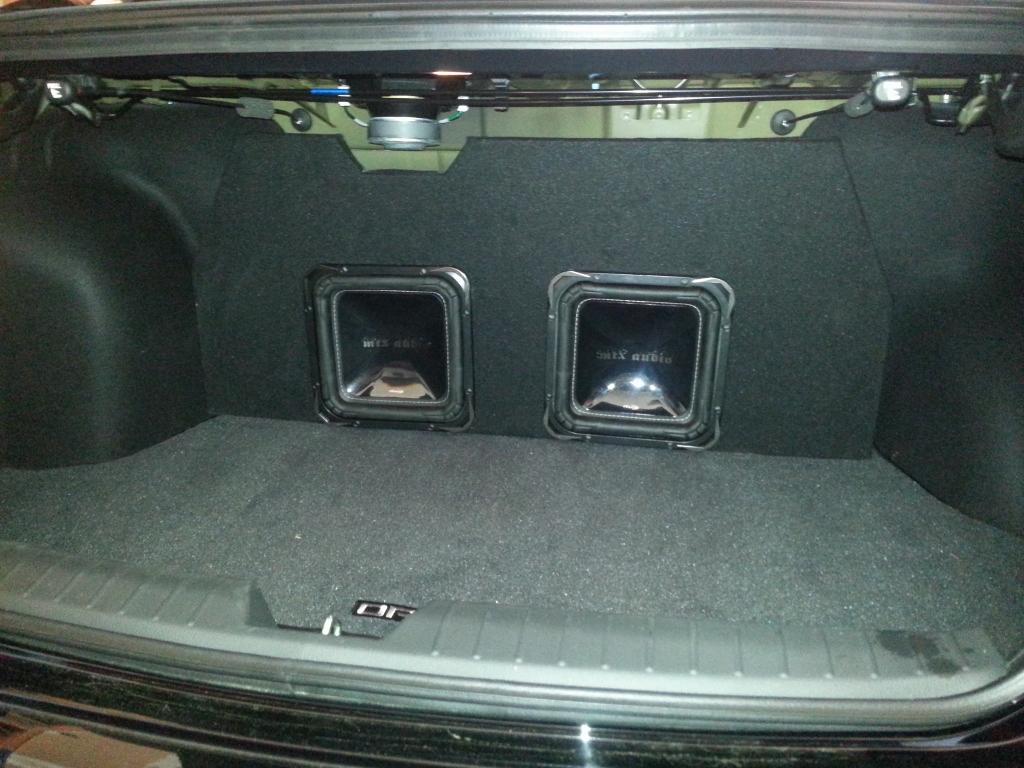 Subwoofer box custom