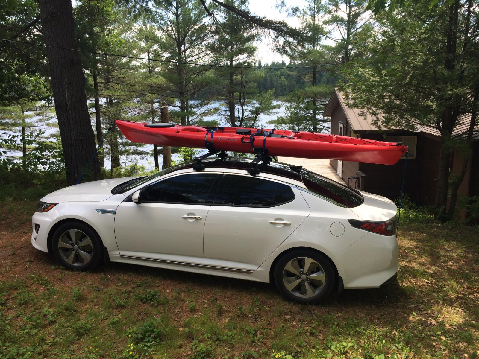 2014 Hybrid Roof Rack Amp Kayak Carrier Pics