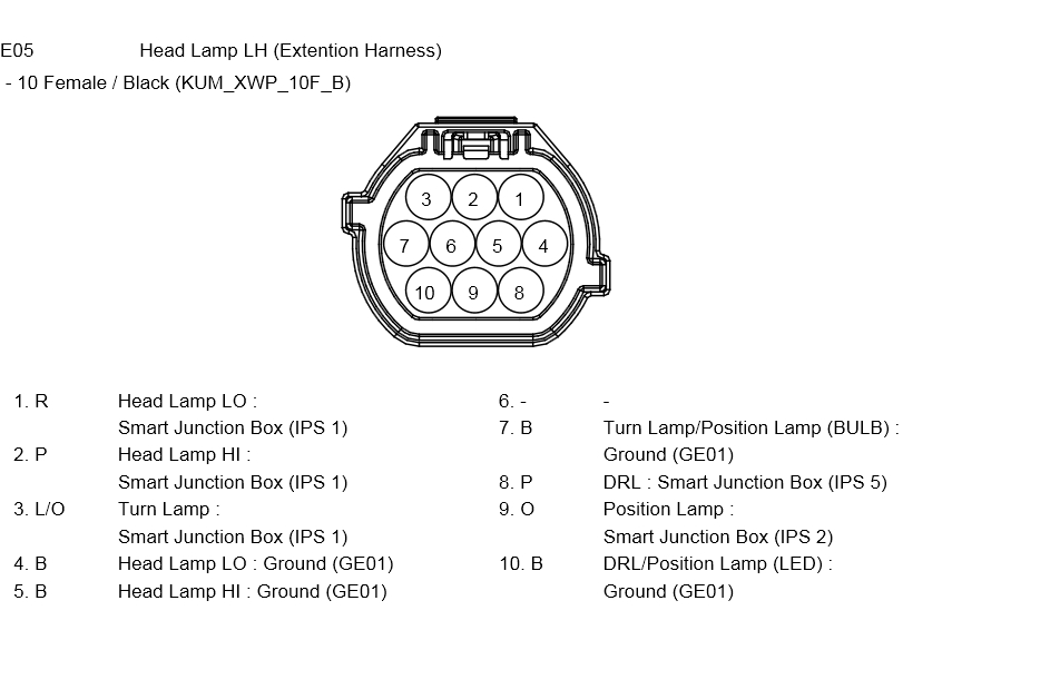 Looking For Wiring Diagram For Headlights