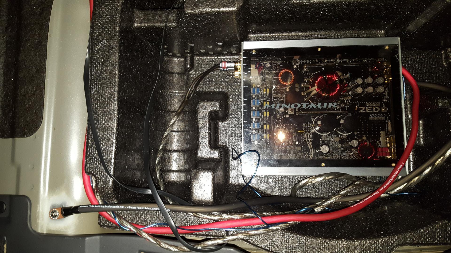 Hook up electronics
