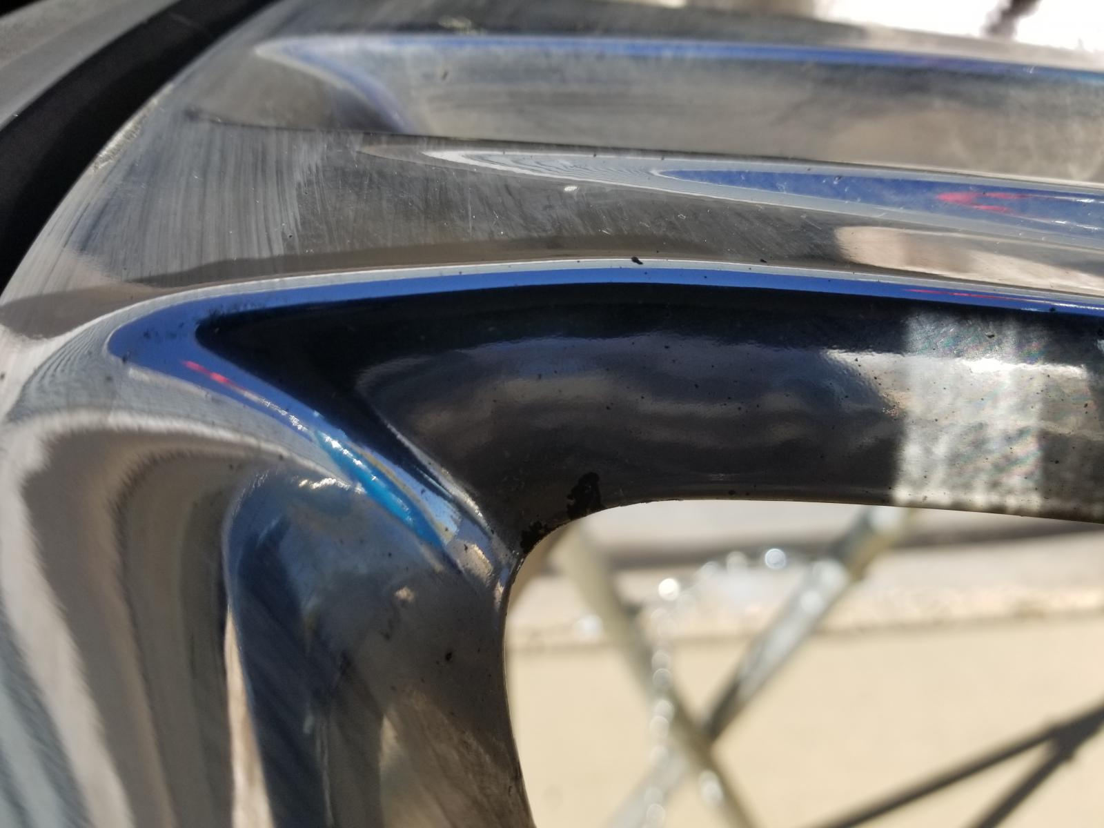 For Those Who Have Peeling Chrome Or Plated Oe Wheels