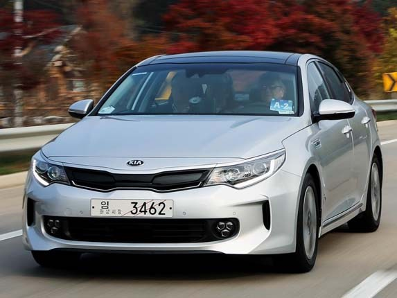 2017 Optima Hybrid Hid Conversion Kia Front