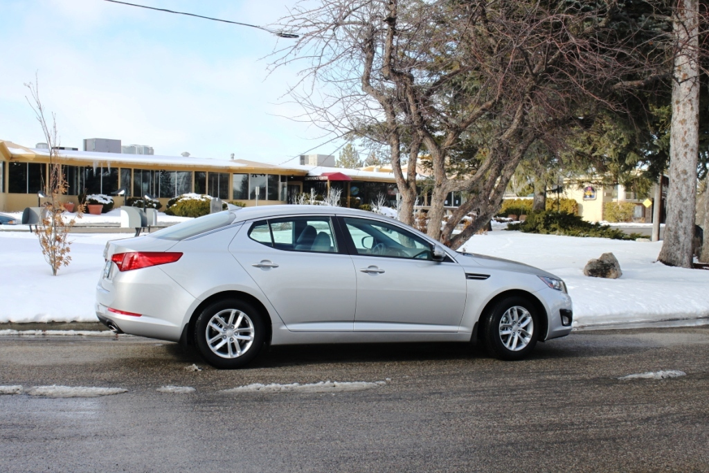 2013 Kia Optima Lx Bright Silver Before And After 3m