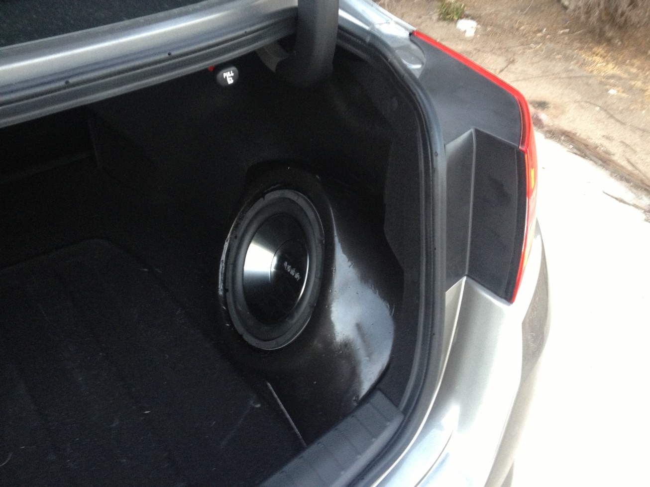 Sx Custom Built Fiberglass Sub Box Install