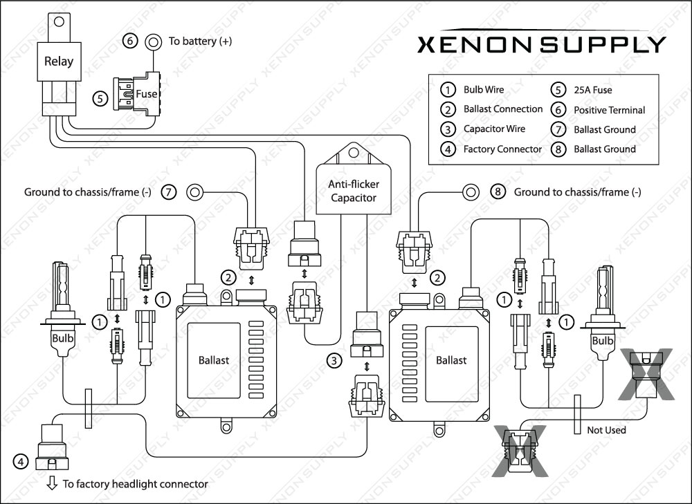 14842d1360091461 hid issues accessory wiring harness layout w capacitor hid issues page 3 2013 kia sorento headlight wiring harness at gsmportal.co