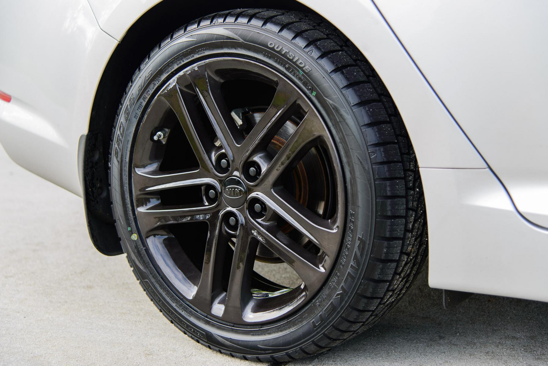 Kia Optima 2013 Price >> [EX] : 2013 EX - SXL wheels powder coated with silver/candy black for Black Chrome