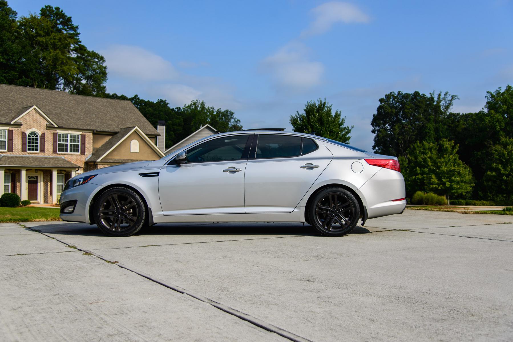 2015 Kia Optima Rims >> [EX] : 2013 EX - SXL wheels powder coated with silver/candy black for Black Chrome