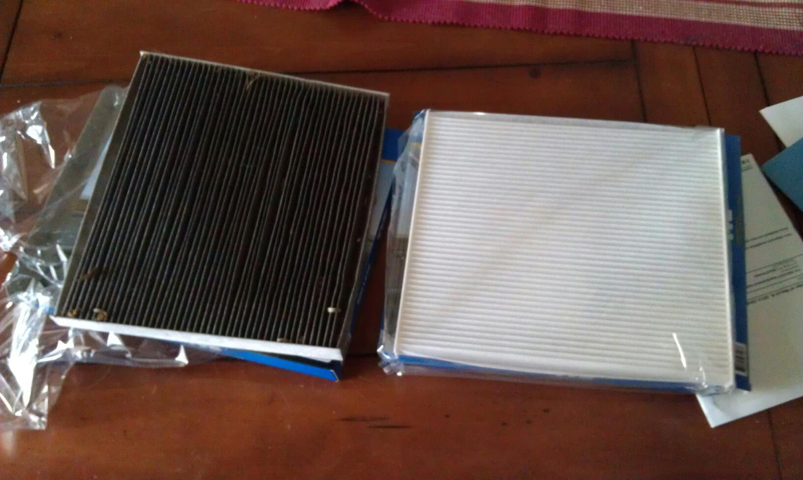 Replacing your cabin air filter changed interior filter 3 27