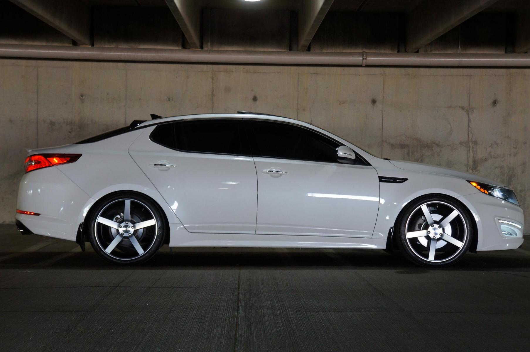 Aftermarket Wheels Kia Optima My 2011 Pictures Of