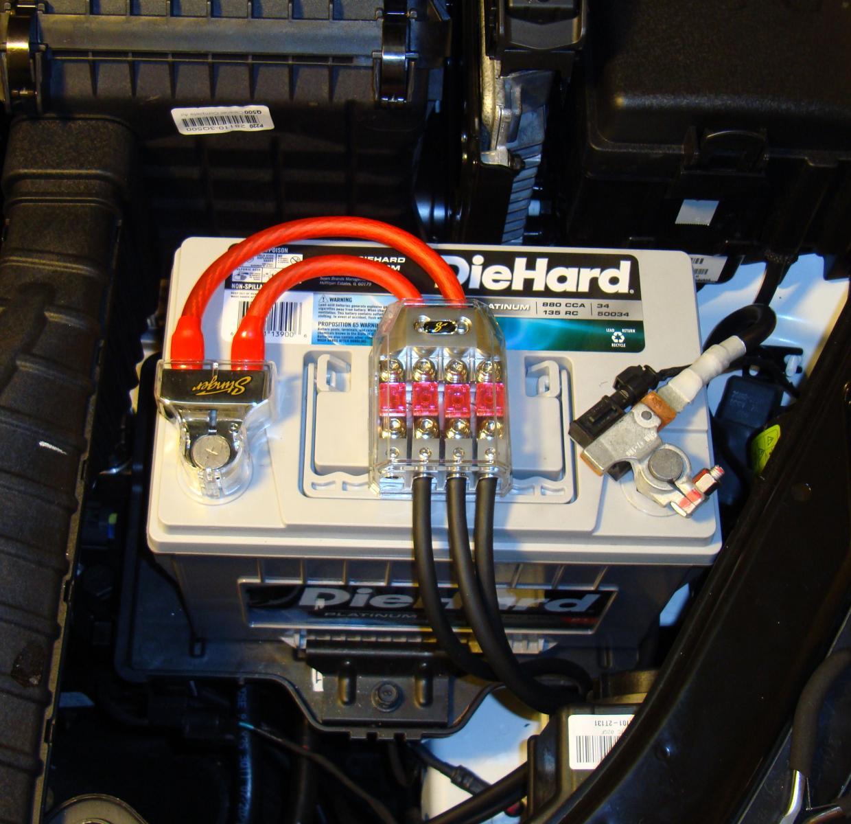 Die Hard Platinum Installed