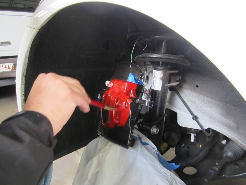 Painted brake calipers - Page 6
