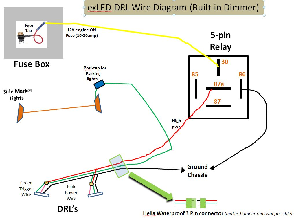 Coming soon new led drls page 24 new led drls exled wire built dim asfbconference2016 Images