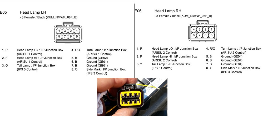 2011 kia optima headlight wiring diagram 2011 wiring diagrams online kia optima headlight wiring diagram diy front reflector led switchback mod parking lights