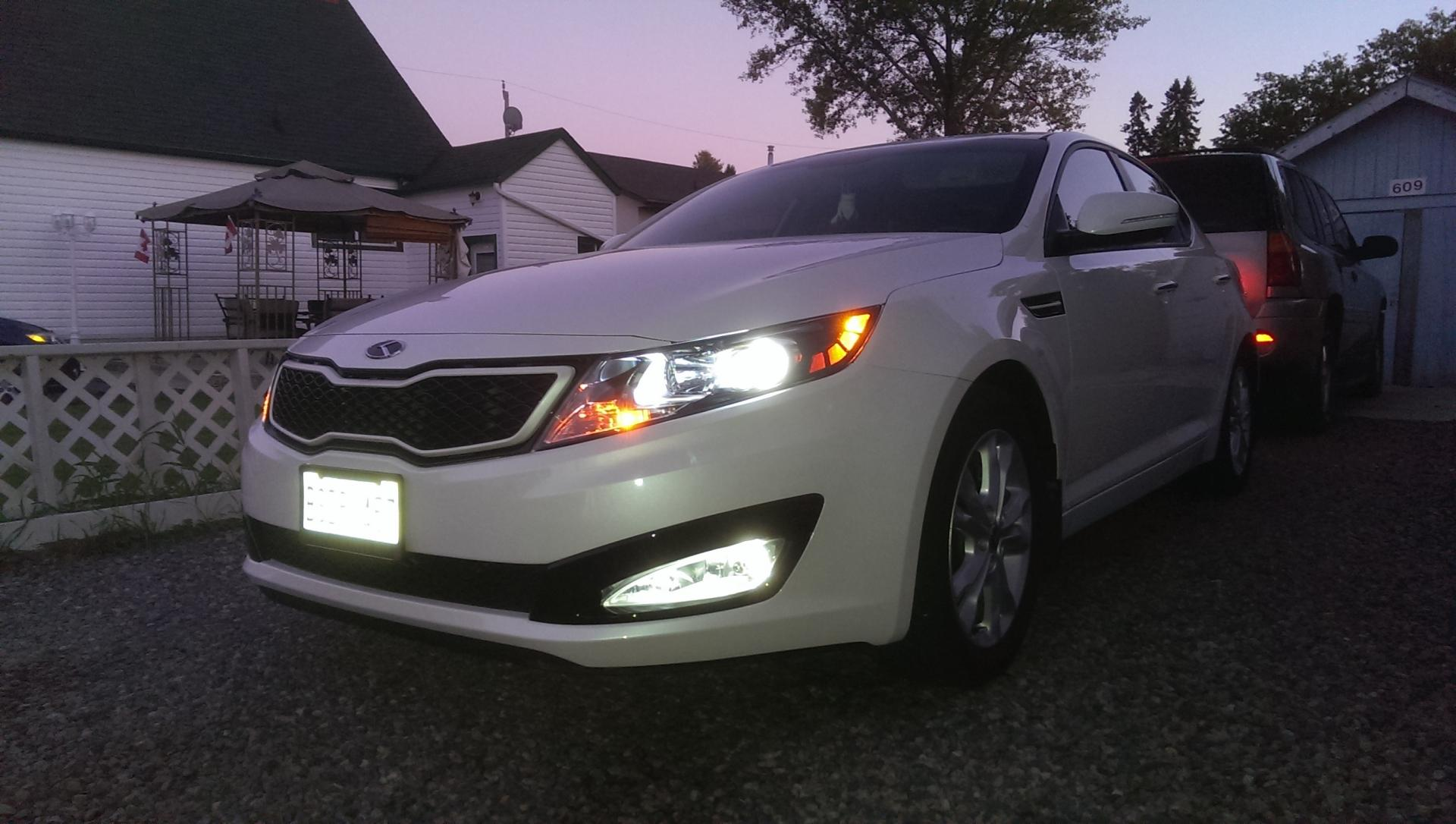 Write Up No Name Hid Kit From K5 Optima Foglights 2017 Lx