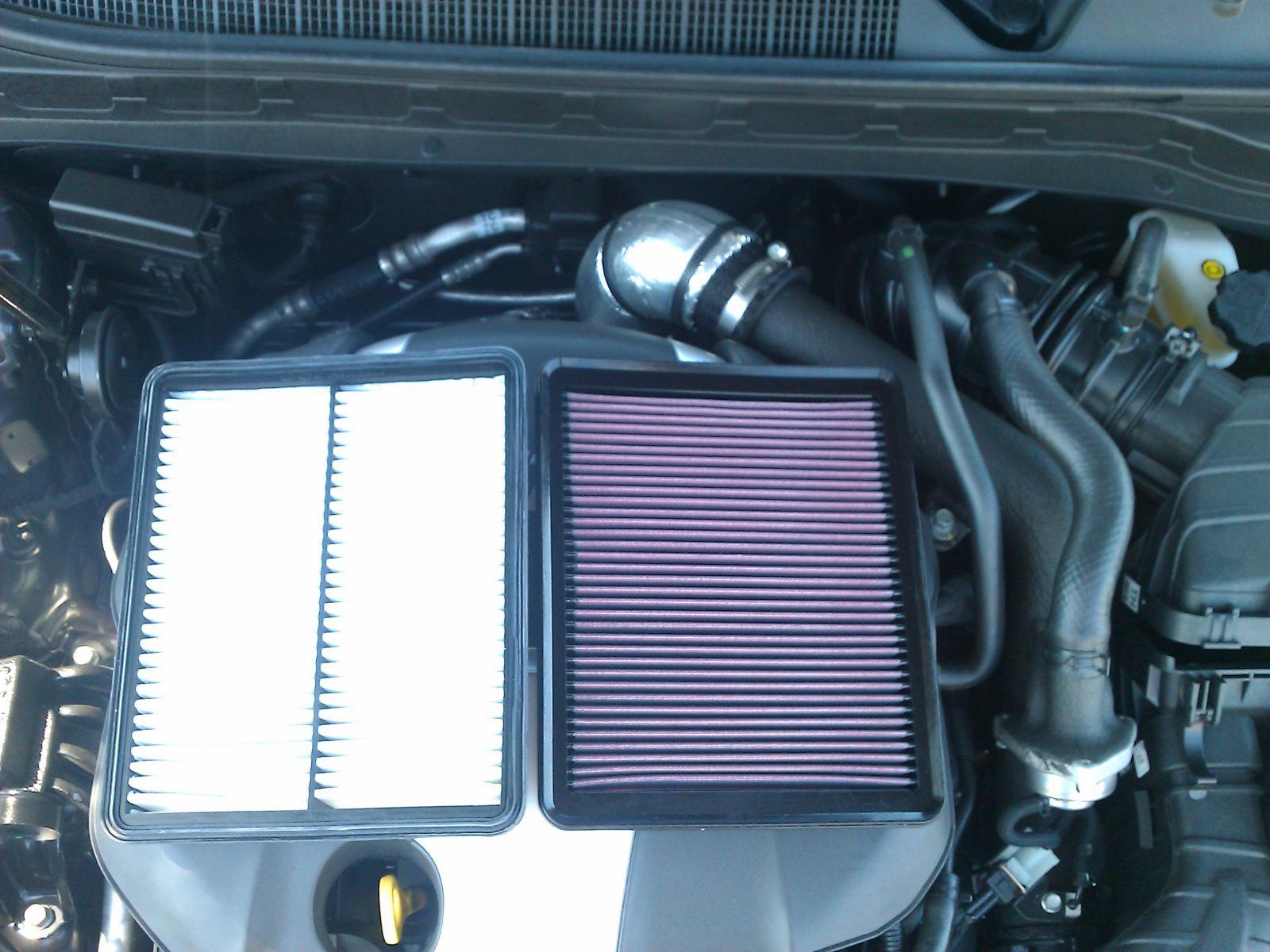 Kia Optima: Air cleaner