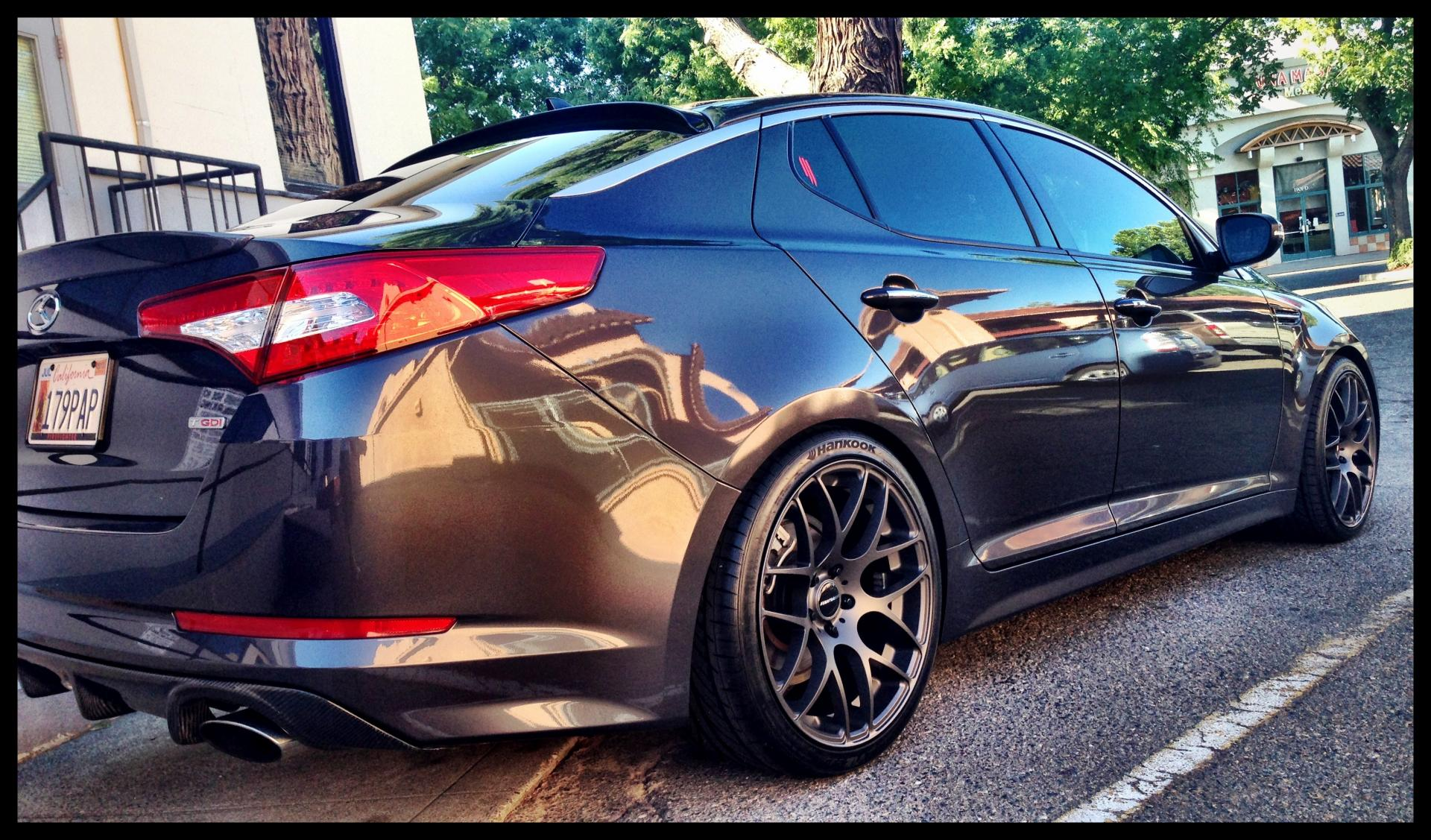 2012 Kia Optima Custom >> New Shoes for the King - Page 4