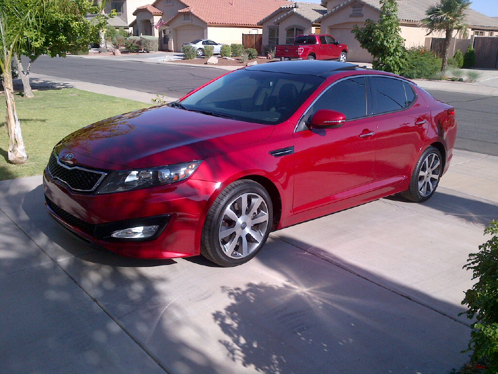 2012 Kia Optima SX Turbo Spicy Red   Phoenix, AZ Img 20120528