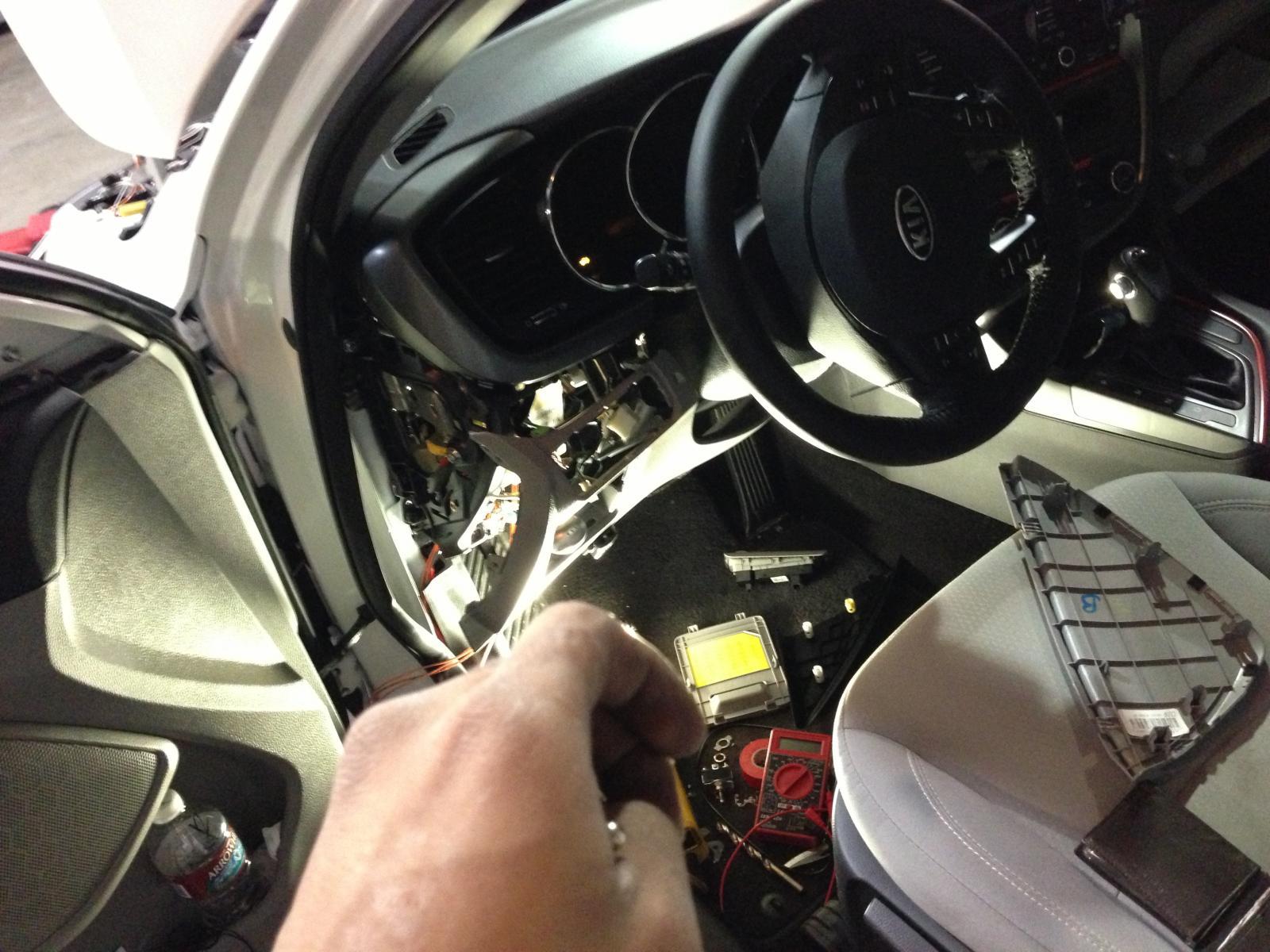 Kia Alarm Wiring Diagram Improve 2012 Led Drl 3 Wire Flashes W Hi Low Rh Optimaforums Com