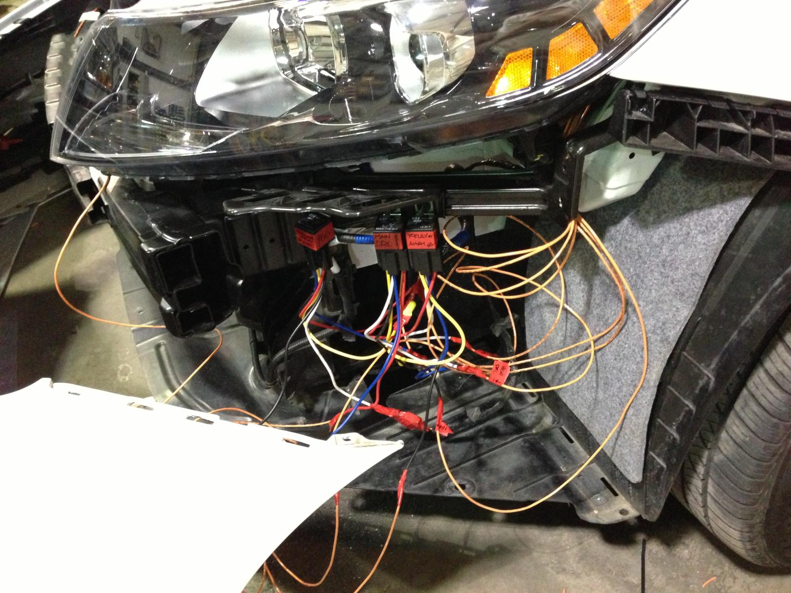 simple wiring diagram to bypass foglights (works w/o headlights or w/  highbeams) | kia optima forums  kia optima forums