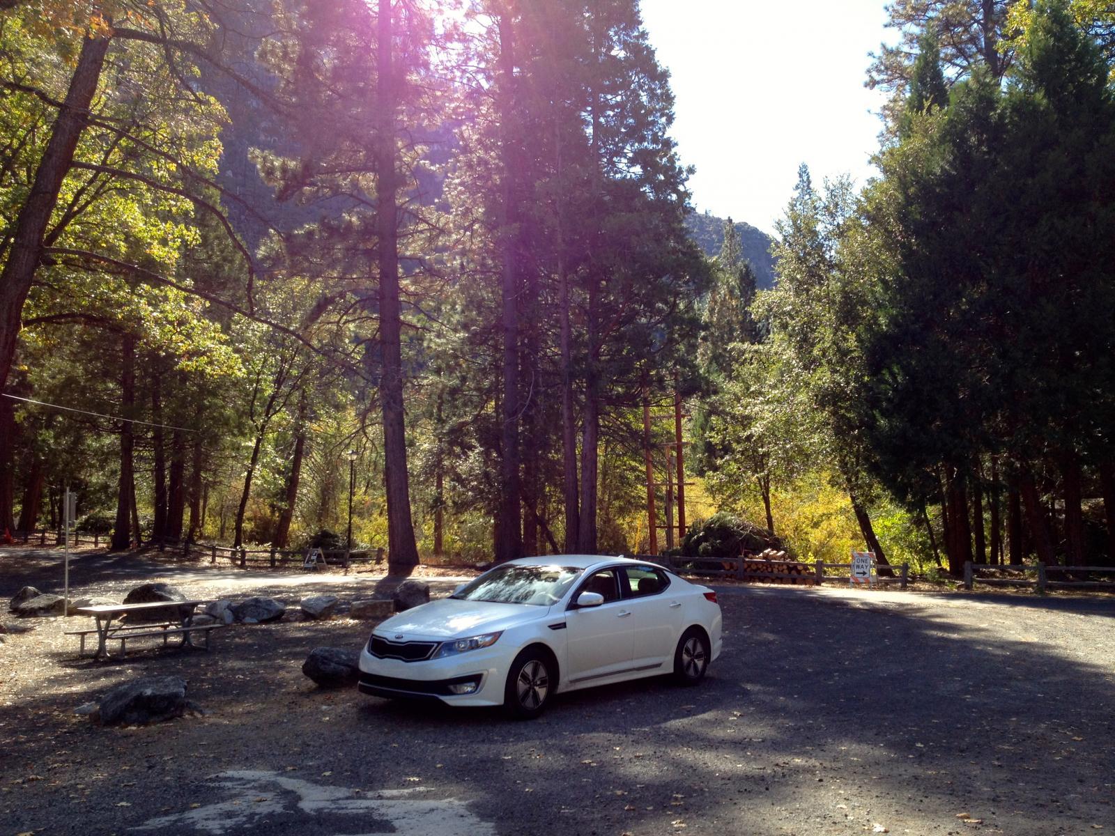 1st roadtrip in Hybrid to Yosemite