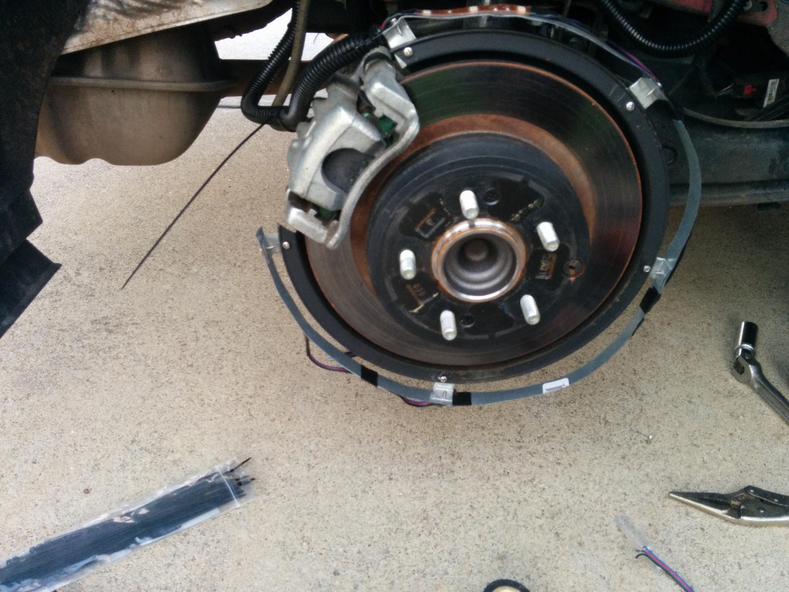 Wheel Well Led Light Rings Work In Progress Img 20170812 195857 Jpg