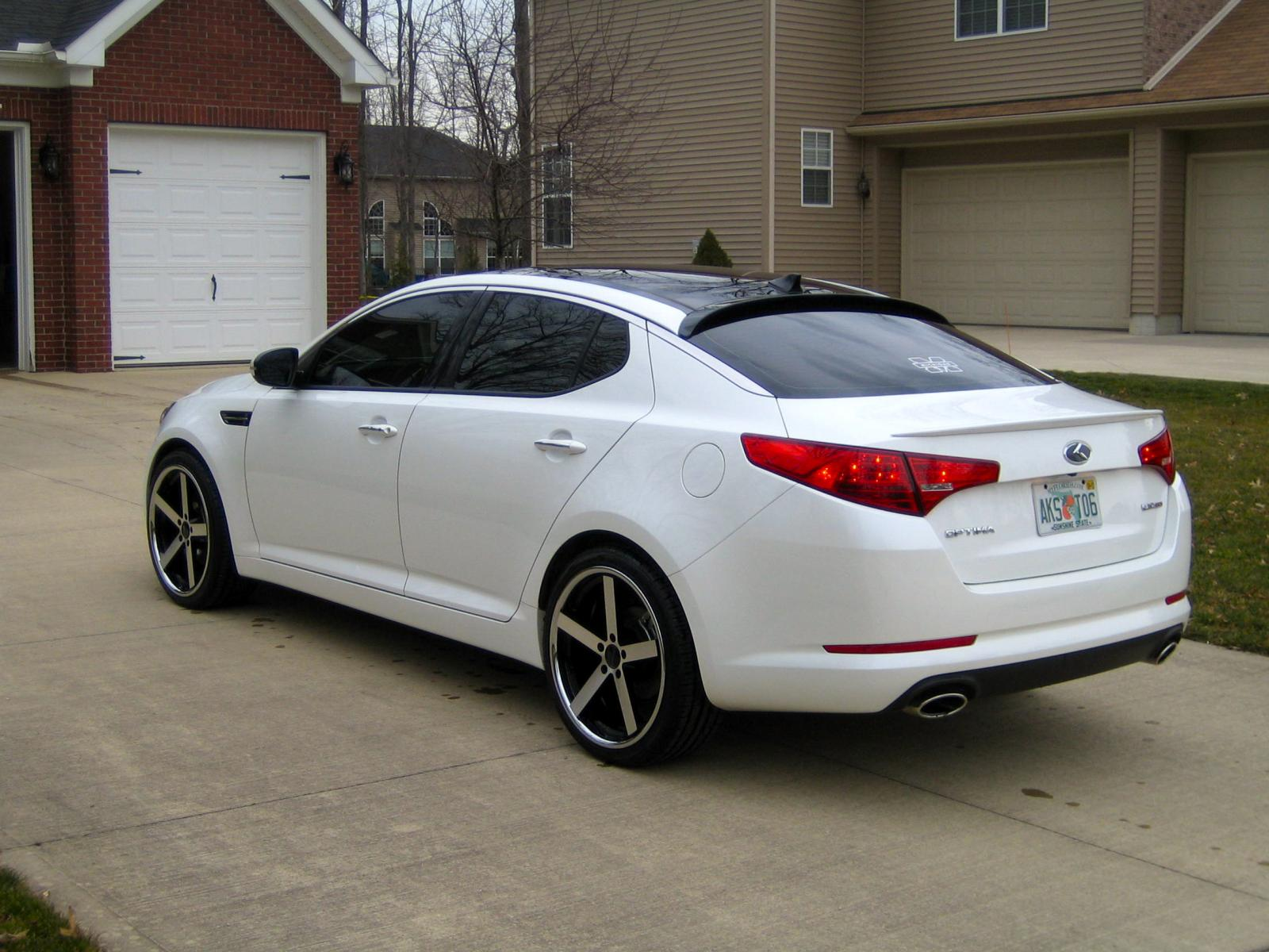 "2012 Kia Optima Custom >> New 20"" Rims"