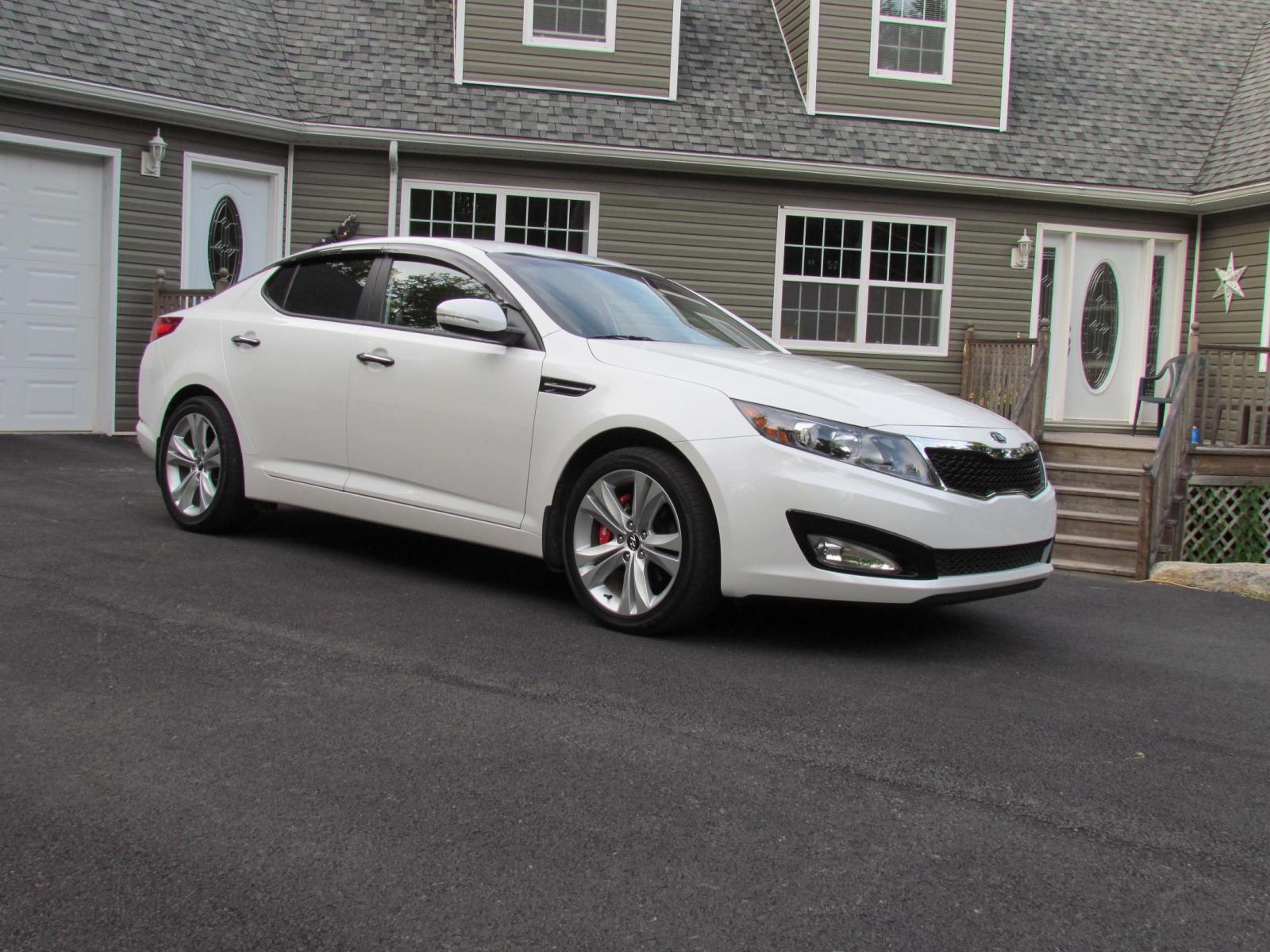 white kia optima new car release information. Black Bedroom Furniture Sets. Home Design Ideas