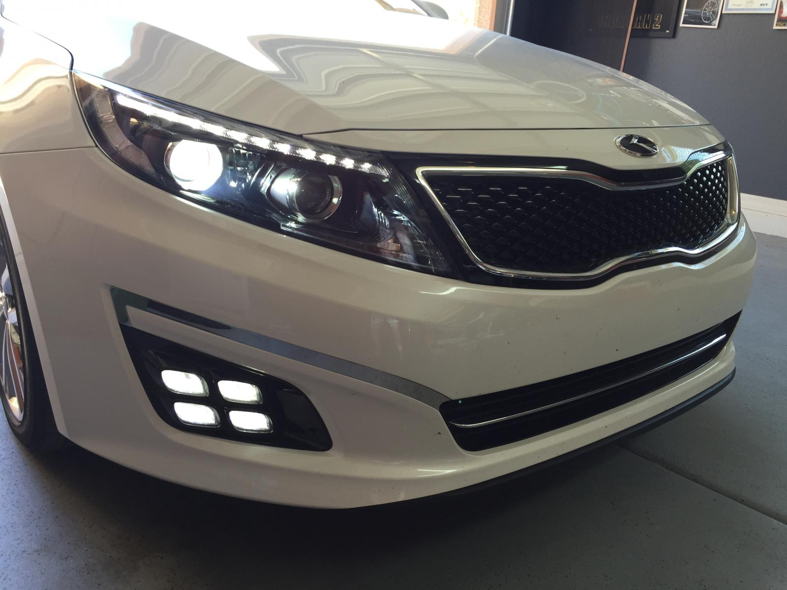 Kia Forte Projector Headlights All About Headlight Koup Ccfl Led How To Turn On Drls Dual