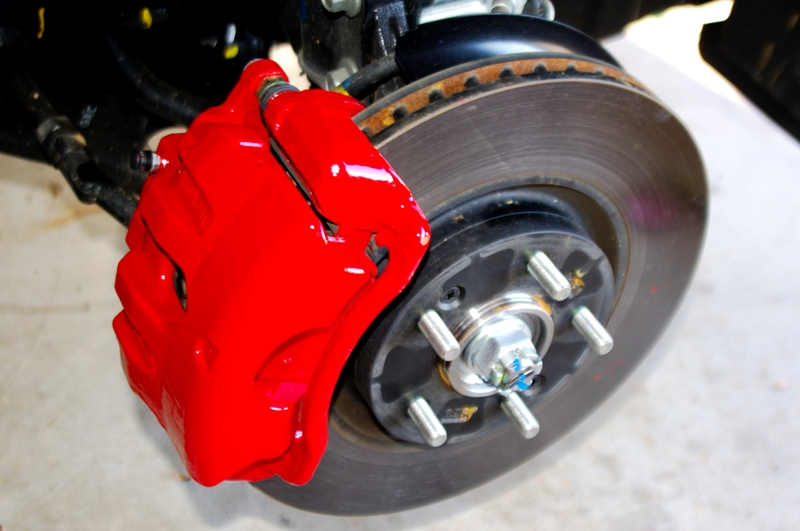 Painted Brake Calipers