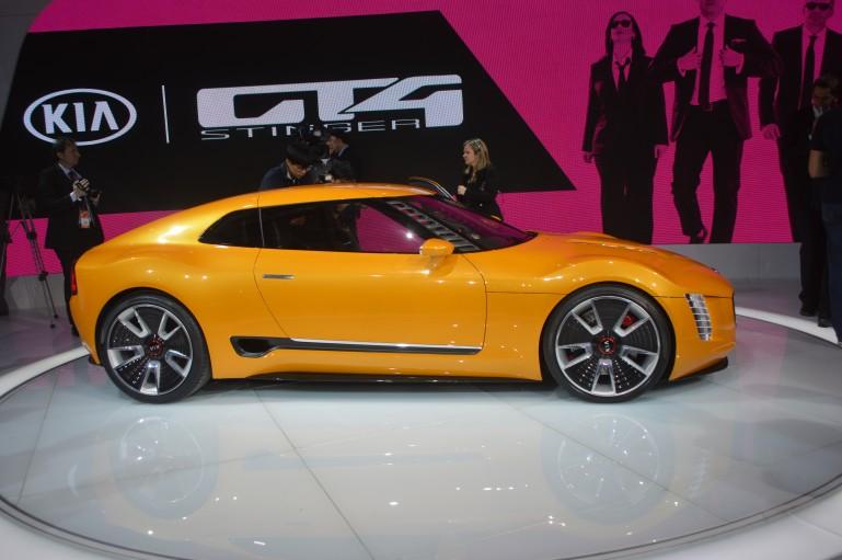 Kia GT4 Stinger. Possible Optima coupe platform??