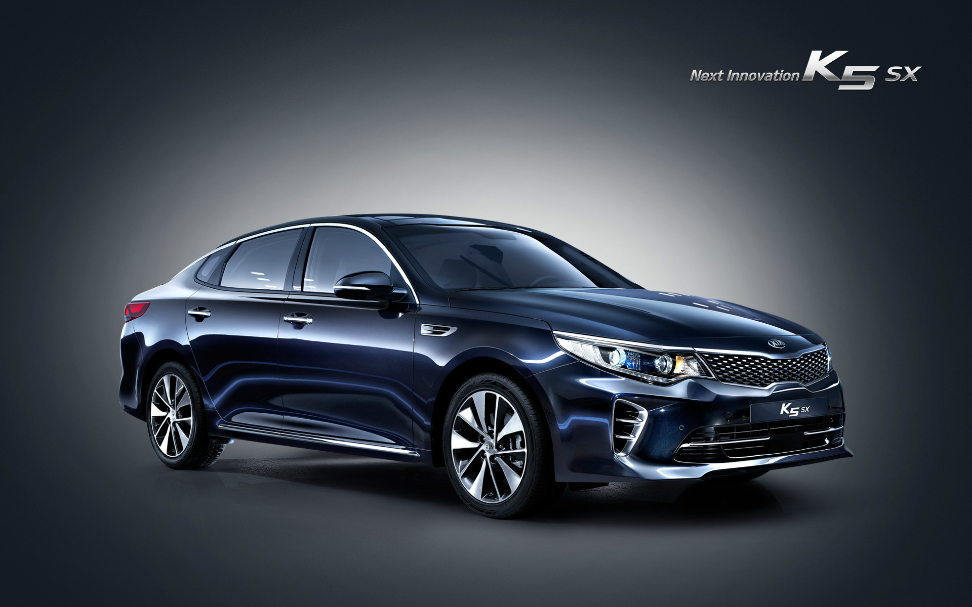 Gravity Blue New Kia K5 Launched South Korea 1