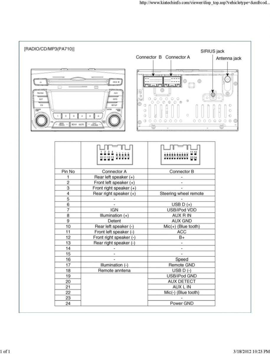 Kia Sorento Wiring Diagram On Forte 2011 Also Kia Optima Radio Wiring