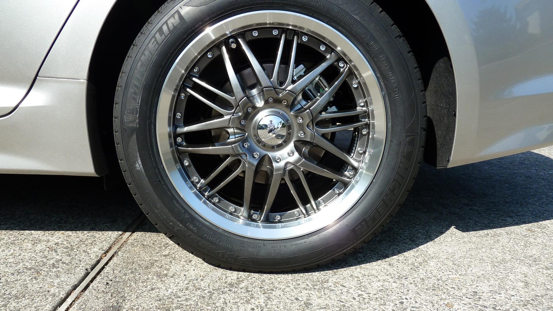 Kia Optima Murdered Out >> Kia Optima custom wheels KMC Rockstar kia t Kia optima