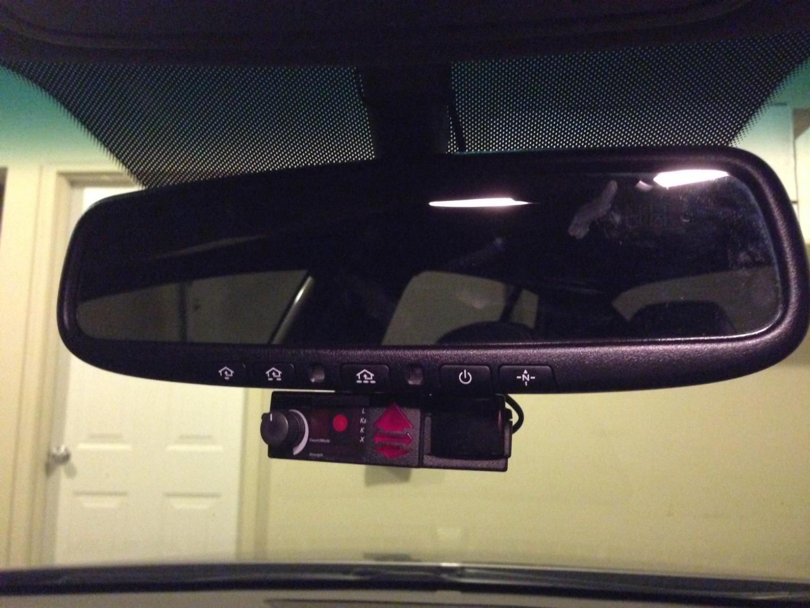 photo 1 blendmount w mirrortap for valentine one installed photo 2
