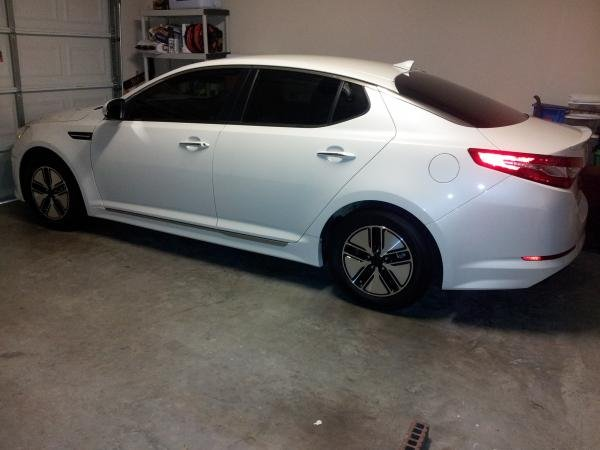 Showcase cover image for superk's 2012 Kia optima hybrid