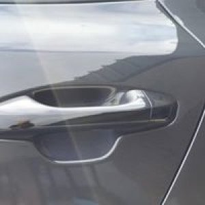 Vinyl Wrap   Glossy Black (Dechroming) door handles