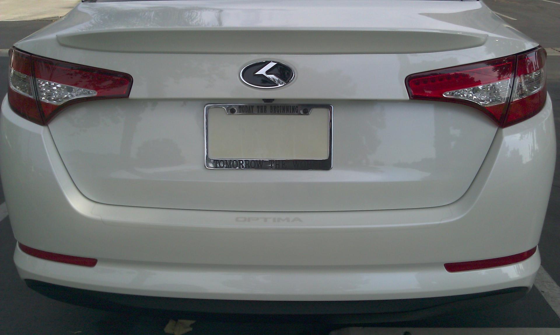 Debadged And Rebadged Kia Optima Hybrid.