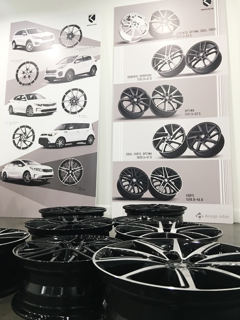 Keen Design hub-centric wheels for KIA K5